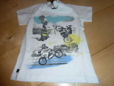 SO 16 - Catimini GLOBAL Niños Camiseta, blanco talla 5a