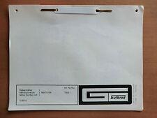 ORIG. Ersatzteilliste GUTBROD Balken-Mäher BM 70 RA Motor ASPERA LAVR 35 1975