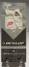 Dunlop Adp Men's Left Hand Golf Glove Size M-l White Leather + New+