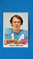 1975 TOPPS FOOTBALL #55 CRAIG MORTON GIANTS EXMT