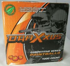 draxxus competitive series paintballs 1000 count factory sealed box free shippin