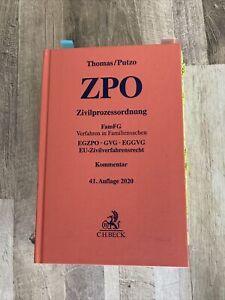 Thomas/Putzo ZPO Kommentar, 41. Auflage 2020