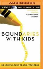 Henry Cloud, John Townsend BOUNDARIES WITH KIDS MP3-CD *NEW* FAST 1st Cl Ship