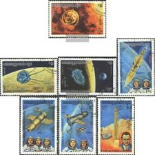 Cambodia 560-566 (complete issue) used 1984 Space