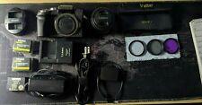 Panasonic LUMIX G7 Digital SLR Camera - Silver (Kit w/ 14-42 mm lens) Bundle