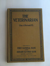 The Veterinarian, Chas. J. Korinek, V.S., Third Edition, 1915