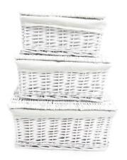 Decoración de color principal blanco para el hogar sin anuncio de conjunto