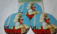 IVANHOE ~ Roger Moore (1958) TV SERIES 36 BLACK & WHITE EPISODES on 3 DVDs.