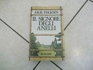 Tolkien Il signore degli anelli Rusconi gennaio 1986 quindicesima edizione