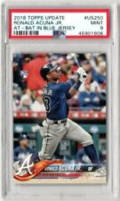 2018 TOPPS UPDATE RONALD ACUNA JR. ROOKIE CARD #US250 PSA 9 RC [SY]