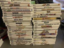 NINTENDO Wii 47 Game Lot Bundle Transformers Fifa Sonic Call Duty Dora Game More