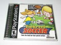 Backyard Soccer for Playstation PS1 Complete Fast Shipping!