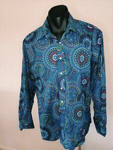 David Smith Shirt Size L Australian Designer