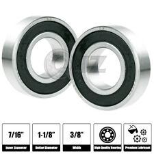 2x 1615-2RS Ball Bearing 1.125in x 0.4375in x 0.375in 2RS RS QJZ Free Shipping