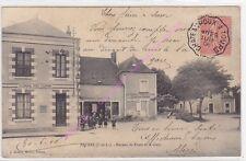 CPA 37320 ESVRES Poste gare tenue par DOUARD animé ca 1906 Edt HURIEL