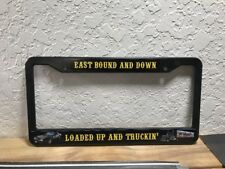 Smokey And The Bandit Custom License Plate Frame  Retro Kenworth W900 Semi 🇺🇸