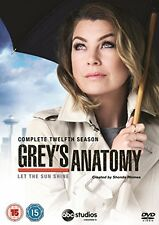 Greys Anatomy - Season 12 [DVD][Region 2]