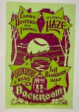 Larry Hosford Concert Poster Americana Country