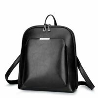 Women Leather Backpack Elegant Fashion Style Casual Business Shoulder Bag