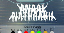ANAAL NATHRAKH VINYL DECAL STICKER CUSTOM SIZE/COLOR CATTLE DECAPITATED FUKPIG