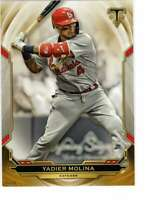 Yadier Molina 2019 Topps Triple Threads 5x7 Gold #53 /10 Cardinals