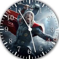 Thor Frameless Borderless Wall Clock Nice For Gifts or Decor E462