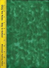 "108"" WIDE QUILT BACKING FABRIC:  SOFTIE,  SOW-HUNTER GREEN, 100% COTTON, BTY"