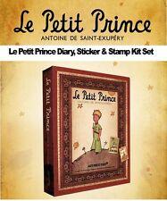 LE PETIT PRINCE DIARY, STICKER & STAMP KIT SET Luxemoon