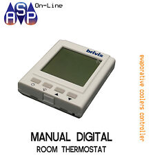 BRIVIS MANUAL DIGITAL ROOM THERMOSTAT CONTROL - PART# B022880