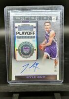 KYLE GUY RC SP #'d /99 Auto 2019-20 Panini Contenders Rookie Playoff Ticket #143