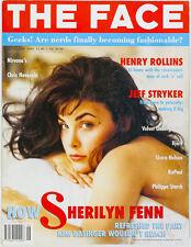 Sherilyn Fenn Bjork HENRY ROLLINS Nirvana JEFF STRYKER RuPaul THE FACE MAGAZINE