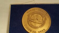Vintage  1989 STS 29 Discovery collectors coin Coats, Blaha, Bagian, Springer,