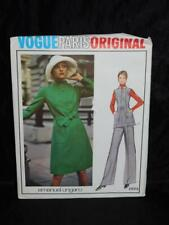 Vintage 70s Vogue 2803 Size 14 Emanuel Ungaro Paris Dress Sewing Pattern Uncut