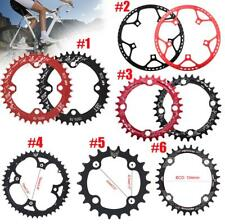 MTB Bike Narrow Wide Round Oval Chainring Ring 104 130mm 22/32/34/36/38/44/53T