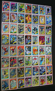 Marvel Universe 1990 Series 1 Trading Cards COMPLETE SET #1-162 With HOLOGRAMS