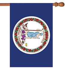Toland Virginia State Flag 28 x 40 Patriotic Usa House Flag