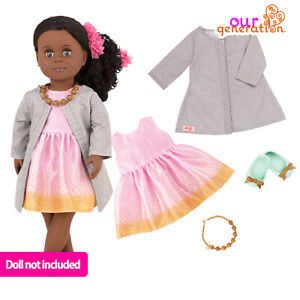 """NEW OUR GENERATION CELEBRATION STYLE Christmas Outfit Accessory 46cm/18"""" Dolls"""