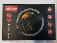 5 X Ultra brillante SWAT PROFESIONAL CREE Hi-Power LED Chip Linterna con zoom