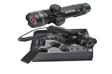 Puntatore Laser Precisione Mirino per Fucile Pistola Caccia Softair Colore Rosso