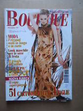 LA MIA BOUTIQUE n°12 1997 con cartamodelli    [D39]