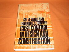 cost control in design and costruction macgraw hill 1980
