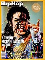 Michael Jackson Magazine Hip Hop Weekly Tribute Gold Ed 2009 Rare King Of Pop