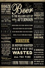 DRINKING POSTER Drinking Quotes Beer