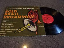 "Hugo Montenegro ""Bold Brass Broadway"" TIME RECORDS LP"