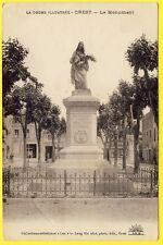 cpa rare 26 CREST (Drôme) Le MONUMENT Aux Enfants de CREST MORTS pour la FRANCE