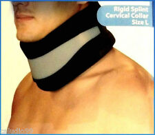 Adjustable Soft Cervical Collar w/ Removable Support (Neck Brace), Foam, Size L