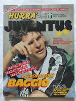 HURRA' JUVENTUS N. 11 - 1990 ROBERTO BAGGIO + FASCICOLO
