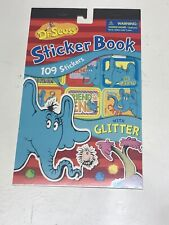 Dr Seuss Horton Blue Elephant sticker book 109 Reward stickers
