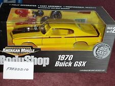 ERTL 1970 BUICK GSX BODY SHOP ASSEMBLY MODEL KIT 1/18 VHTF YELLOW