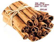 Cannelle de Ceylan , Vraie , Bio , les bâtons de 8cm